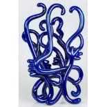 Mario Dalpra (Feldkirch 1960 geb.)  Blue wonder Bronze und Metallic, beschichtet, lackiert 44 x 25 x