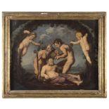 NORTH-ITALIAN PAINTER, 17TH CENTURY BACCHUS Oil on canvas, cm. 47,5 x 59 PROVENANCE Illustrious
