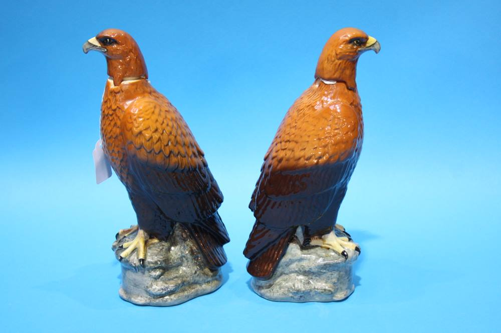 Lot 12 - Two Beswick 'Golden Eagle' decanters