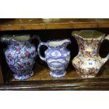 3 Maling vases