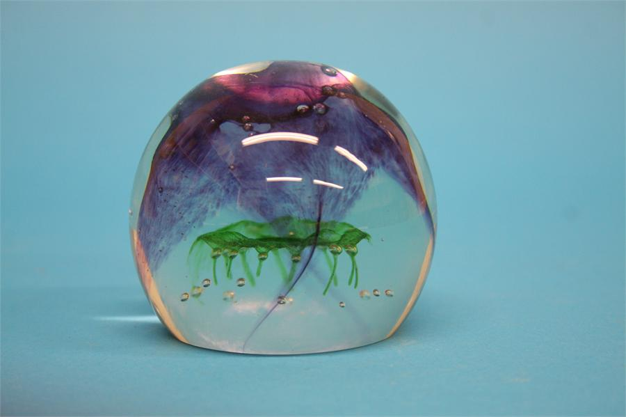 A boxed Caithness 'Sea Kelp' paperweight, limited - Image 2 of 2