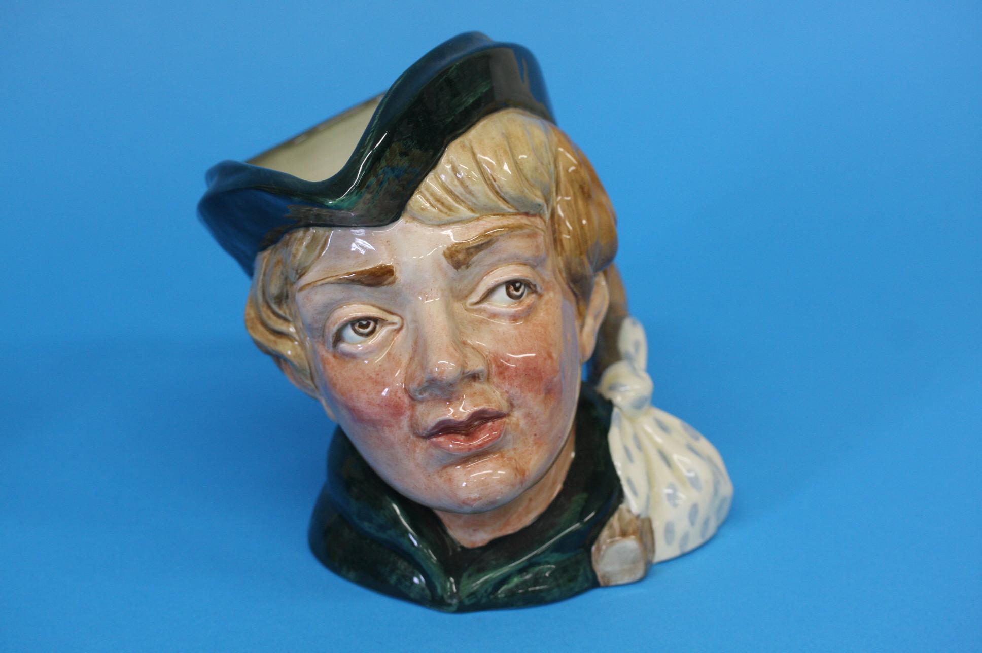 A Royal Doulton Character jug 'Dick Whittington' a - Image 3 of 3