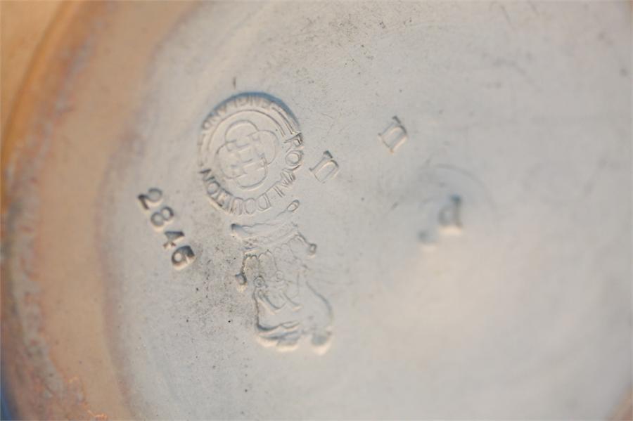 A Royal Doulton stoneware Bacchus jug 'Good is not - Image 4 of 4