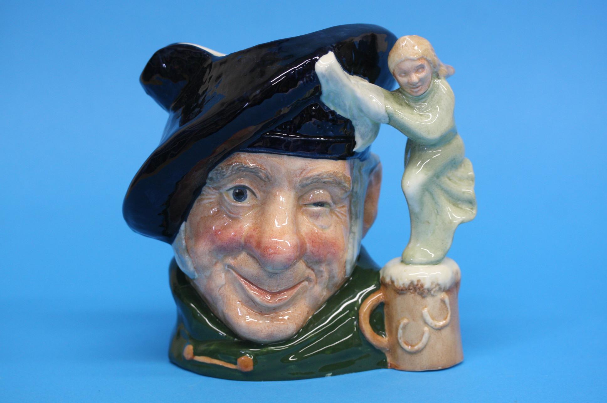 A Royal Doulton Character jug 'Dick Whittington' a - Image 2 of 3
