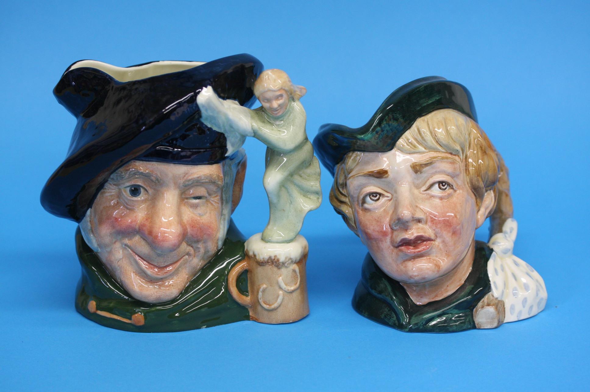 A Royal Doulton Character jug 'Dick Whittington' a