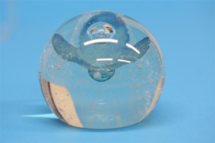A boxed Caithness 'Morning Dew' paperweight - Image 2 of 2