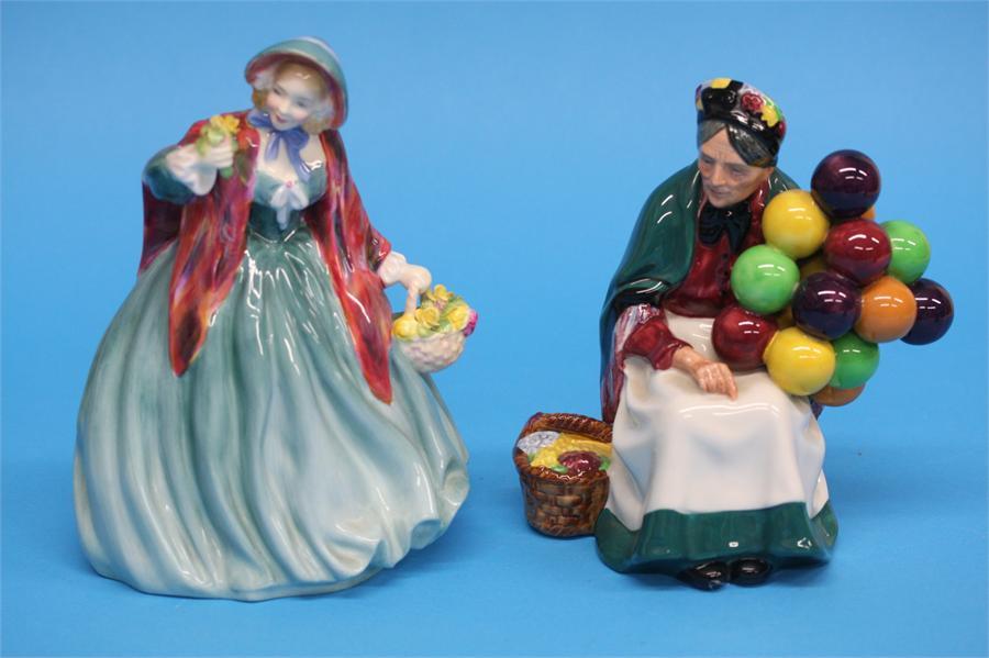 A Royal Doulton figure 'The Old Balloon Seller' HN