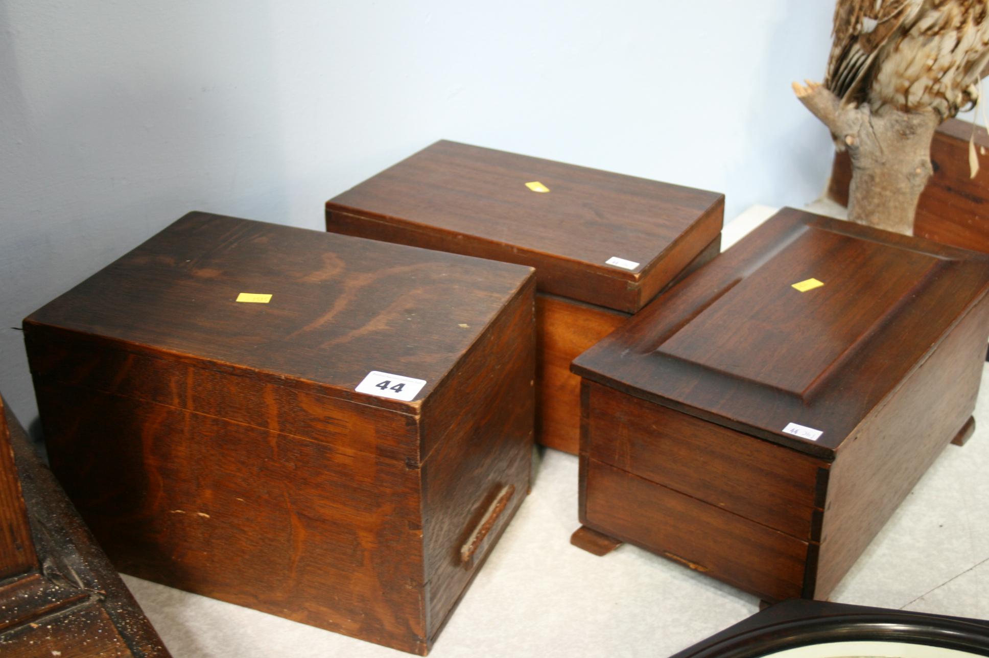 Lot 44 - Three boxes