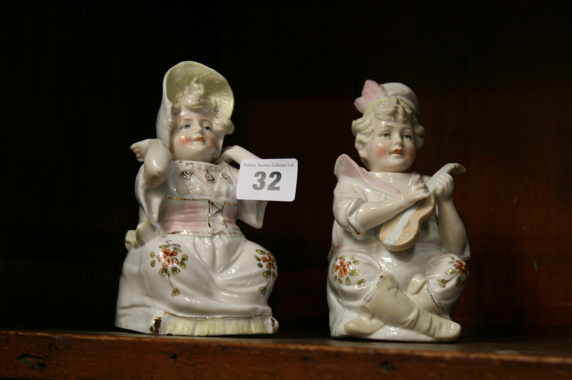 Lot 32 - Pair of Continental 'Nodding' figures