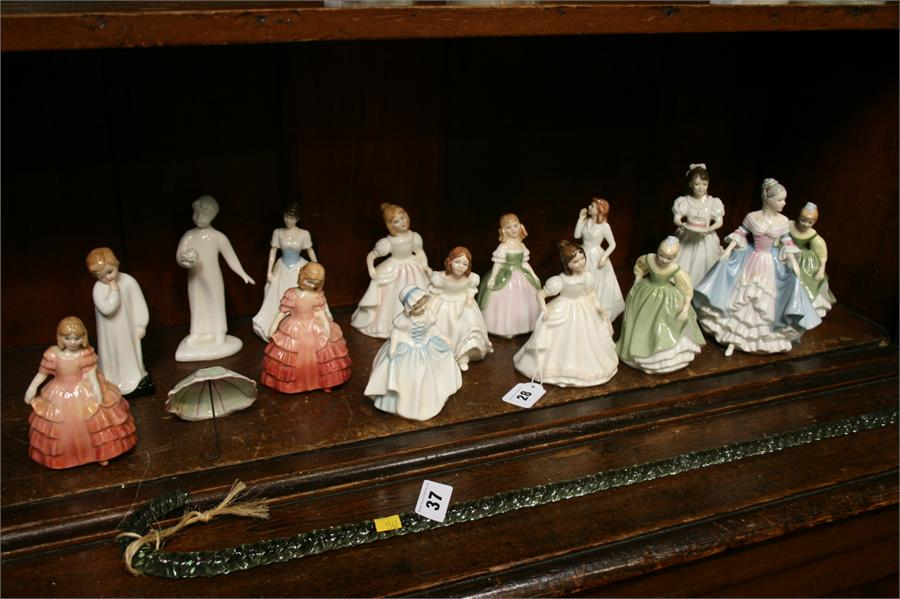 Lot 28 - Collection of Royal Doulton figures