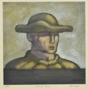 Joseph Davie (20th century) Stoically Yours, a coloured print, signed and inscribed, Artist Proof I.
