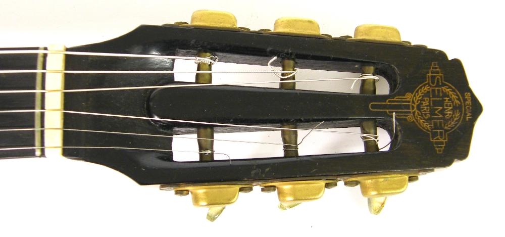 1933 Selmer Orchestra model Maccaferri oval sound hole guitar, no. 269 - Image 7 of 22