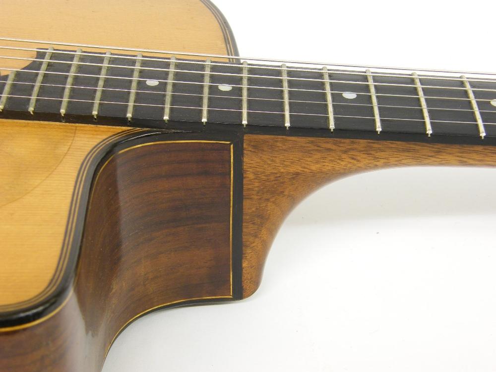 1933 Selmer Orchestra model Maccaferri oval sound hole guitar, no. 269 - Image 11 of 22