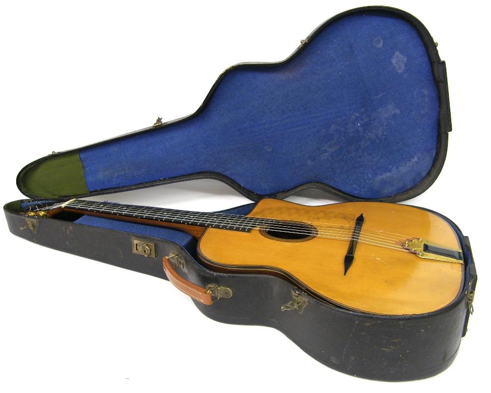 1933 Selmer Orchestra model Maccaferri oval sound hole guitar, no. 269 - Image 3 of 22