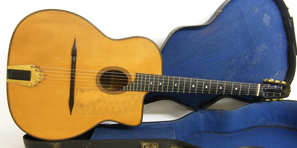 1933 Selmer Orchestra model Maccaferri oval sound hole guitar, no. 269