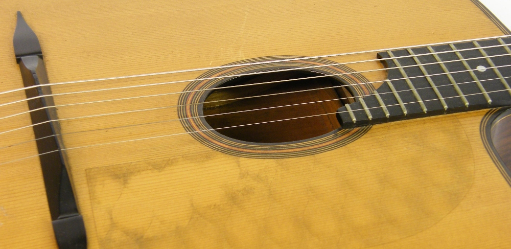 1933 Selmer Orchestra model Maccaferri oval sound hole guitar, no. 269 - Image 9 of 22