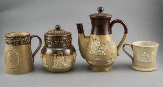 Doulton Lambeth Salt Glazed Stoneware It