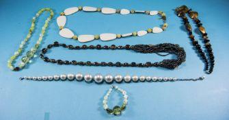 Three Various Costume Necklaces comprisi