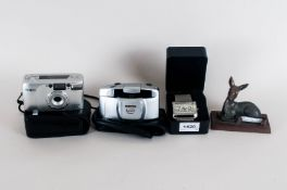 Mixed Lot Comprising 2 Cameras, Fashion