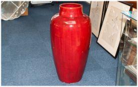 Minton Large Flambe Glazed Floor Standin
