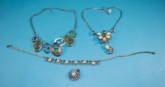 Collection of Gemstone Jewellery compris