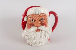 Royal Douton Special Edition Character Jug 'Santa Claus' D6704, Issued 1984-2000. Limited To 2,500