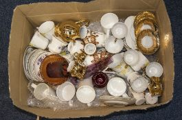 Collection of Assorted Pottery including cups, saucers, part teasets etc