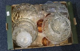 Collection of Assorted Glass Ware