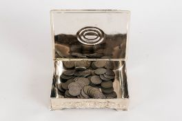 Box Containing Mostly GB Decimals and Pre-Decimal Coinage. Charitable Donation So Could Contain