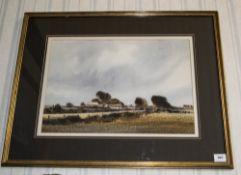Edward Emerson Signed Original Watercolo