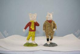 Royal Doulton Ltd Edition Figures ( 2 )