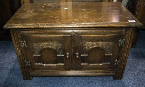 Small Carved Oak Side Table, Jacobean St
