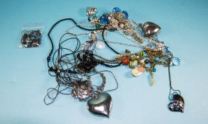 Bag of Large Bead Statement Necklaces