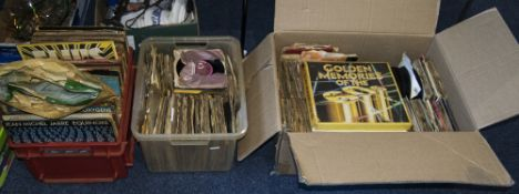 Three Boxes of Records including LP;s, S