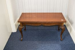 Mahogany Coffee Table, Rectangular Top R