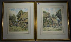 John. L. Chapman 1946 - Pair of Artist P