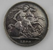 Queen Victoria Silver Crown.