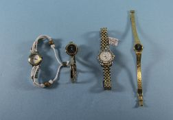 A Collection of Modern Watches, Includes Gucci, Pulstar, Diamond and Kahuna. All In Good Condition.