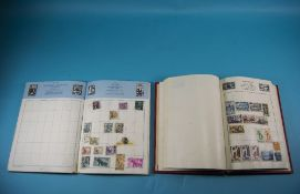 The Trustee Stamp Album And Cardinal Stamp Album Containing A Selection Of Stock Stamps From