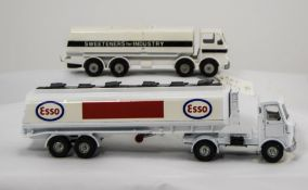 Two Dinky Diecast Models AEC Esso Tanker & Leyland Octopus 'Sweeteners For Industry'