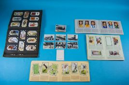 Cigarette Card Album Comprising Various Part Sets Together With A Few Loose