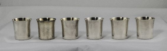 A Vintage Swedish Silver Matched Set of
