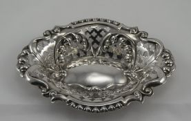 Edwardian - Silver Ornate and Pierced Bo