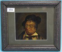 Teniers (circa 1850). Portrait of a Rogu