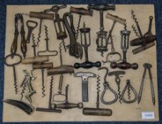 A Collection of Corkscrews comprises som