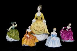 Collection Of Five Royal Doulton Figures