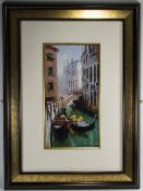 E. Anthony Orme - Titled ' Venetian Scen