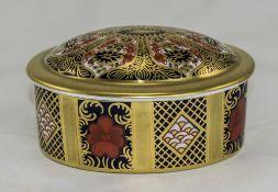 Royal Crown Derby Imari Pattern Lidded T