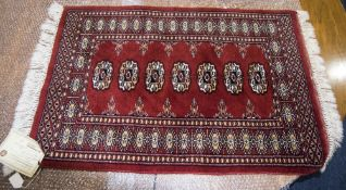 Prayer Rug From Pakistan, Made Of Bomull