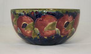 Moorcroft 'Pomegranates and Berries' Pat